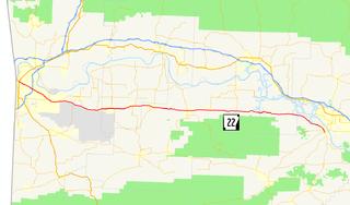 Arkansas Highway 22 highway in Arkansas