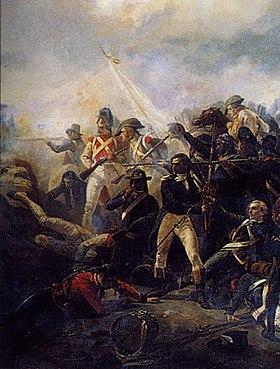 Armée des émigrés à Quiberon.