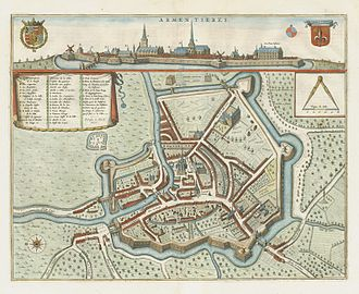 Armentières - Armentières in 1649