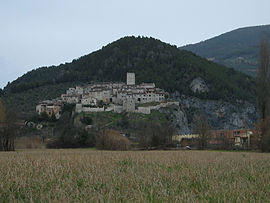 Panorama von Arrone