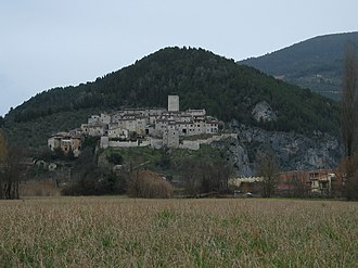 Arrone - View of Arrone