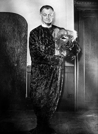 "Art Carney - Carney in ""The Man in the Dog Suit"" from his own NBC television show in 1959. The character was a meek man until he put on the dog costume"