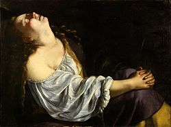 Artemisia Gentileschi: Mary Magdalene in Ecstasy
