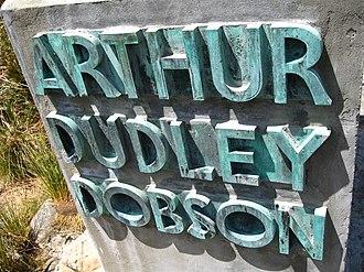 Arthur's Pass - Image: Arthur Dudley Dobson Memorial 02 gobeirne