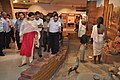 Arun Goel Visits Science And Technology Heritage Of India Gallery With NCSM Dignitaries - Science City - Kolkata 2018-09-23 4338.JPG