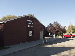 Arvilla, North Dakota Unincorporated community in North Dakota, United States