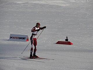 Arvis Liepiņš Latvian cross-country skier