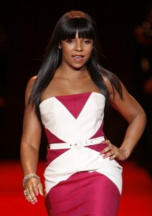 Ashanti discography - Ashanti modeling at The Heart Truth Fashion Show in February 2008.