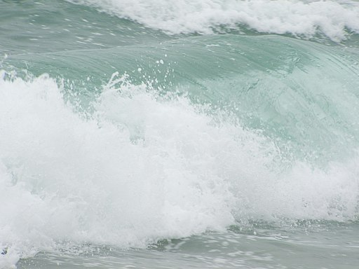 Asilomar State Beach (Breaking wave) 02