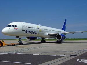 Astraeus Airlines - An Astraeus Boeing 757-200. (2007)