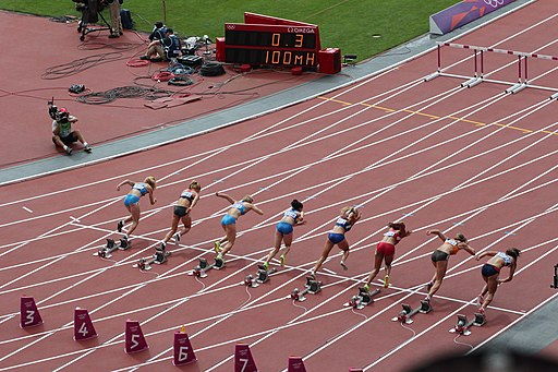 Athletics at the 2012 Summer Olympics 5001 W heptathlon 100mH heat4