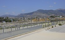 Attica 06-13 SKA train stop 02 view to Parnitha.jpg