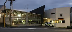 St John Ambulance - Central Ambulance Station, Auckland, New Zealand