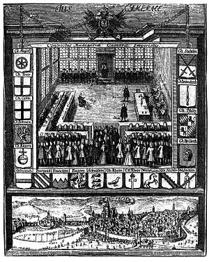 Reichskammergericht - Session of the Imperial Chamber Court in the 18th century