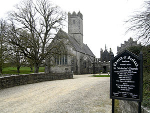 Adare Friary - The church in 2007