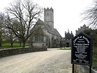 Adare Friary - The church in 2007