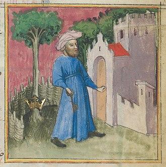 Muhammed ibn Umail al-Tamimi - Image: Aurora consurgens zurich 055 f 27r 55 city