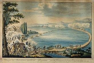 Siege of Kehl (1796–97) - Image: Austrians 13 Sept 1796 Kehl