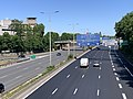 Autoroute A1 vue depuis Route Courneuve St Denis Seine St Denis 2.jpg