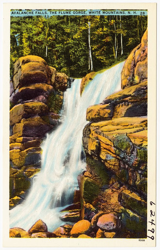 File Avalanche Falls The Flume Gorge White Mountains N