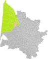 Avensan (Gironde) dans son Arrondissement.png