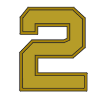 John R. Dailey - Image: Award numeral 2
