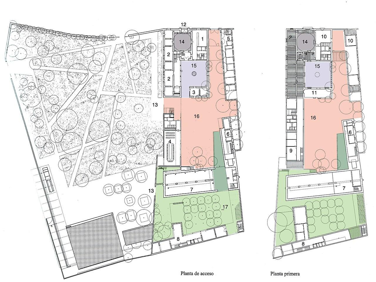 File ayuntamiento de tomares plantas for Plantas para patios