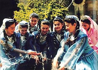 Azerbaijanis - Image: Azerigirls