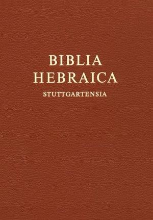 Biblia Hebraica Stuttgartensia - Image: BHS cover
