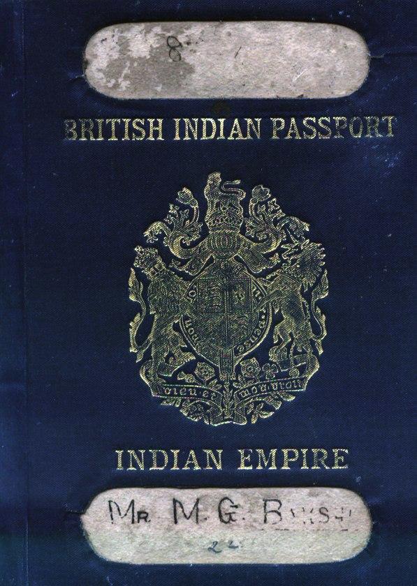 Indian passport - Howling Pixel