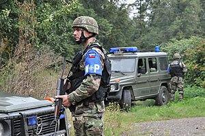 Military police - Slovakian military police