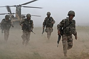 Spanish Army - Spanish soldiers of the Airborne Brigade in Afghanistan.