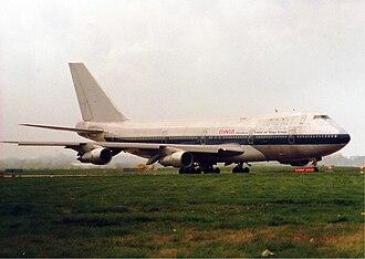 BWIA West Indies Airways - BWIA Boeing 747-100 in 1987