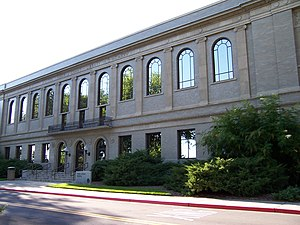 Harold B. Lee Library - Heber J. Grant Library, now a testing center