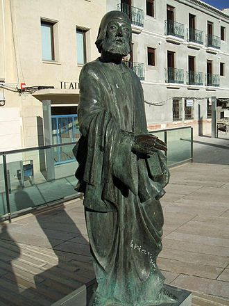 Juan Alfonso de Baena - Statue of Juan Alfonso de Baena in his hometown of Baena, Córdoba