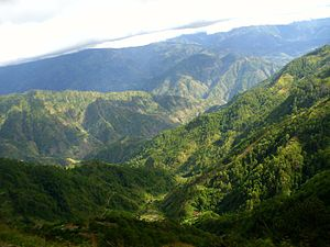 Cordillera Central (Luzon) - A portion of the range in Benguet surrounding Baguio
