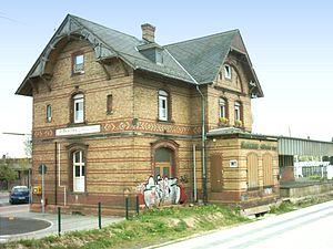 Rodgau Railway - Old station building at Weiskirchen