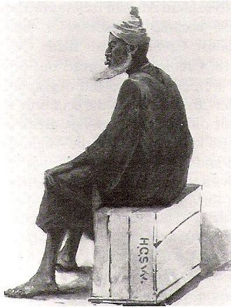Sierra Leone - Bai Bureh, Temne leader of the Hut Tax War of 1898 against British rule