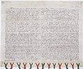 Bail à ferme de terres à Charnelles (Eure) par Pierre de la Broce, chambellan du roi de France Philippe III. - Archives Nationales - AE-II-284.jpg