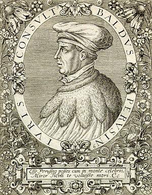 Ubaldi, Baldo degli (1327?-1400)