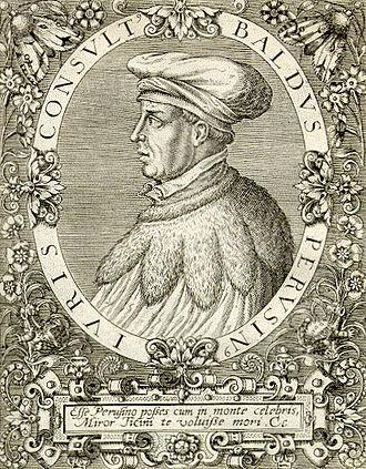 Baldus de Ubaldis - Baldo degli Ubaldi