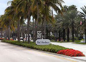 Bal Harbour, Florida - Collins Ave. in Bal Harbour