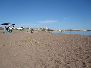 Balkhash (city) - Image: Balkhash town Beach