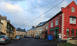 Town of Ballyferriter, County Kerry, Ireland