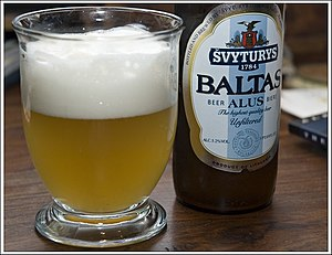 Baltic Beverages Holding - Baltas wheat beer (5.2% abv)