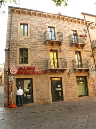 Banca di Sassari - Banca di Sassari in Tempio Pausania
