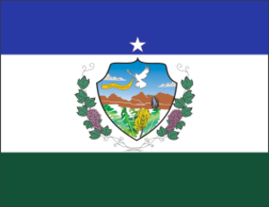 Natuba - Image: Bandeira Oficial Natuba PB