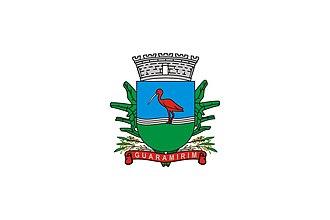 Guaramirim - Image: Bandeira de guaramirim