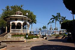 Bandstand of Plaza Alvarez in Acapulco, Mexico (2).jpg