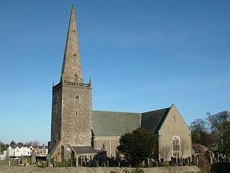 Bangor Abbey - Bangor Abbey and graveyard